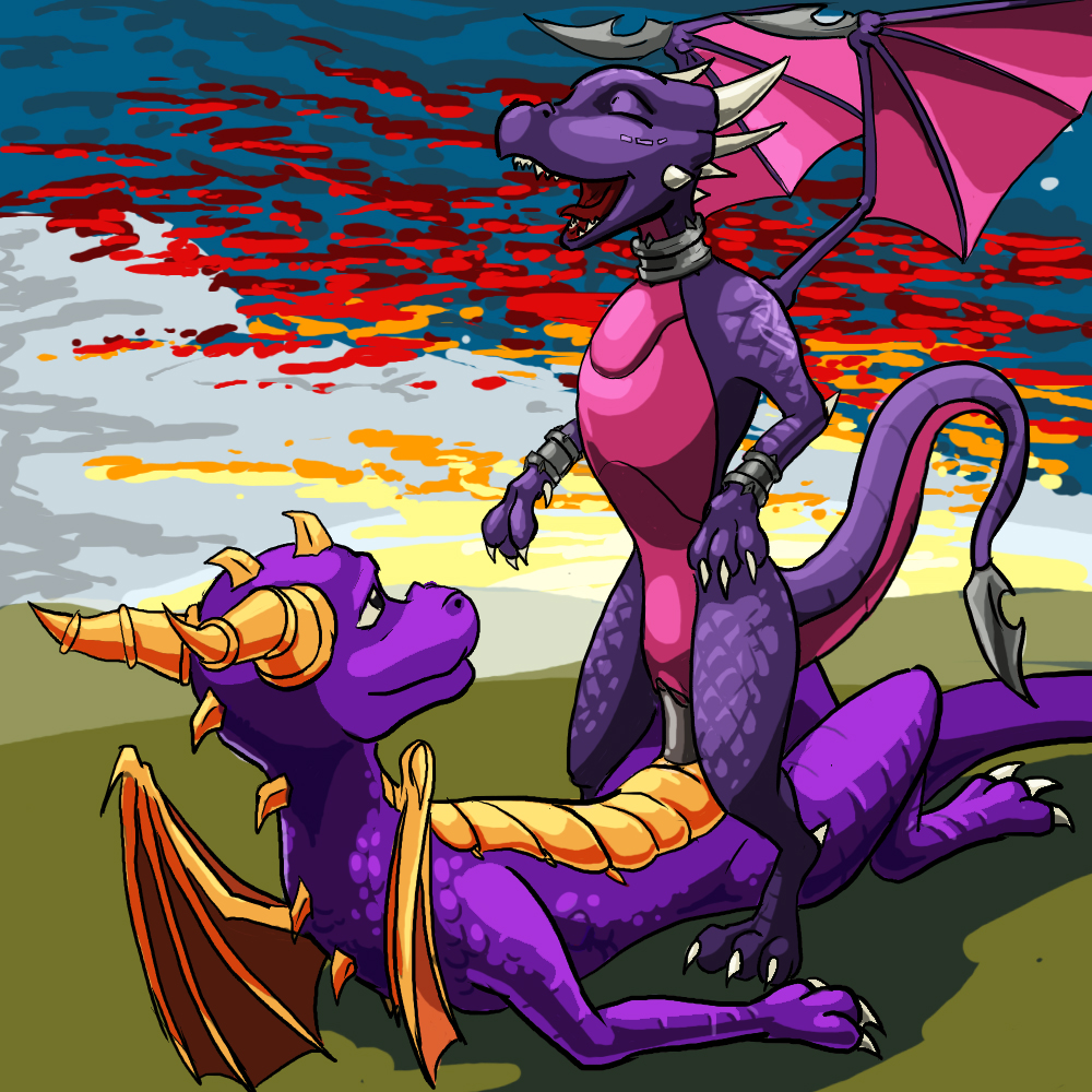spyro and mating fanfiction cynder Crypt of the necrodancer coda