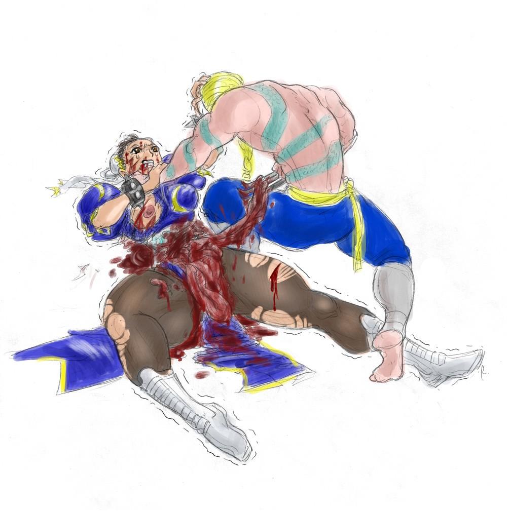 chun li fighter street hentai My hero academia iida gif