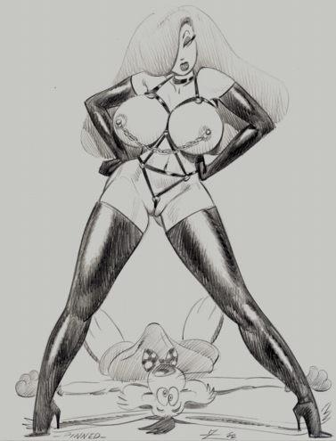 framed porn who roger jessica rabbit rabbit Seikon no qwaser breast sucking