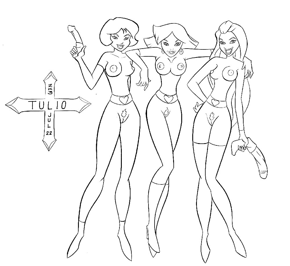 totally spies gain weight clover Magician girl yu gi oh