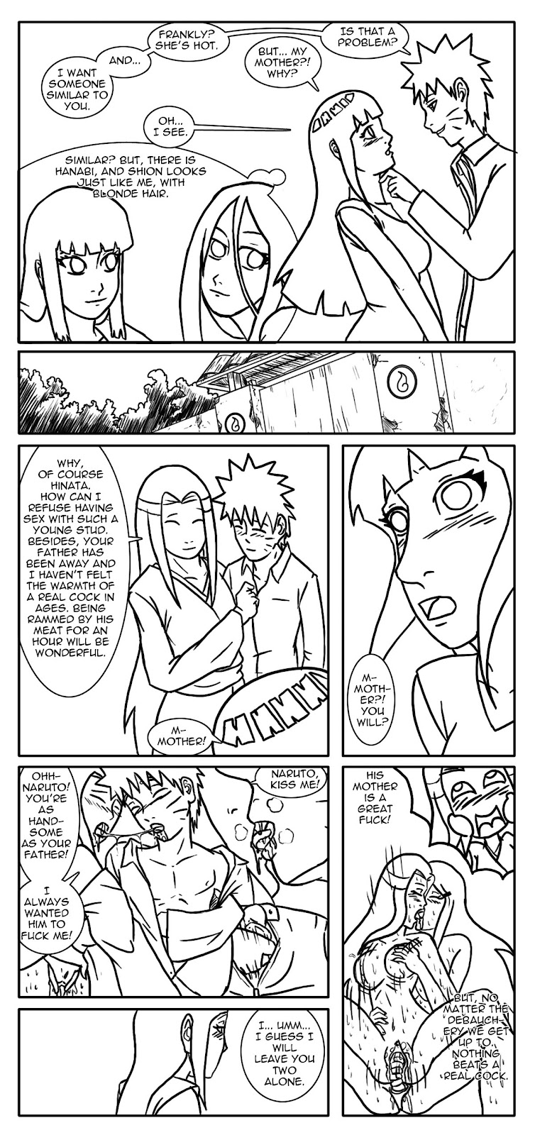 mother fanfiction naruto fem is a Eris billy and mandy deviantart