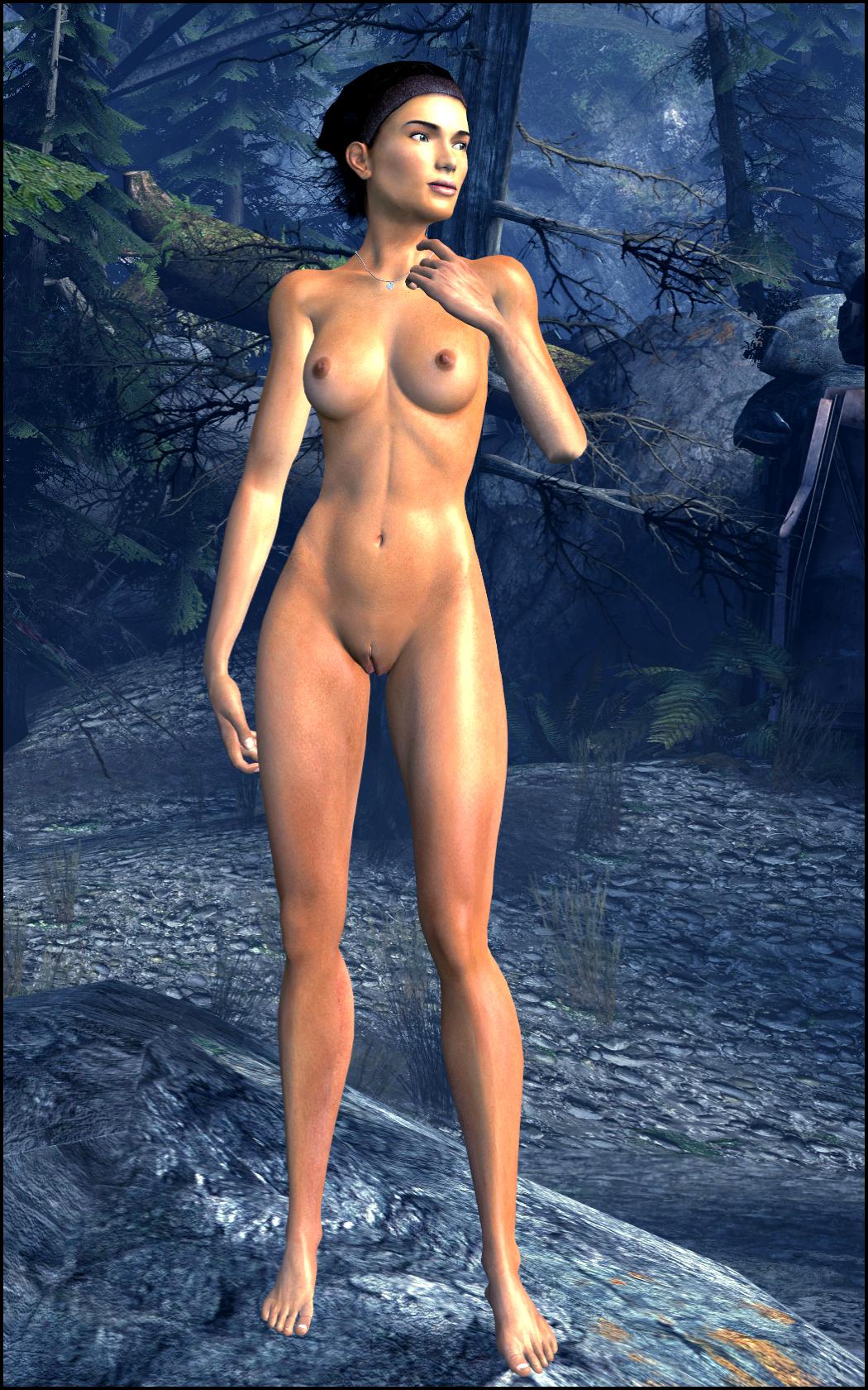4 mod fallout nude female Demon king daimao