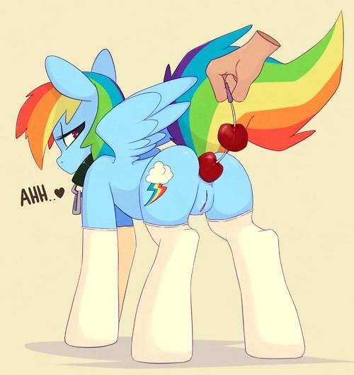 little pony rainbow dash blitz and rainbow my [nighthawk] boukoku no otome kishi