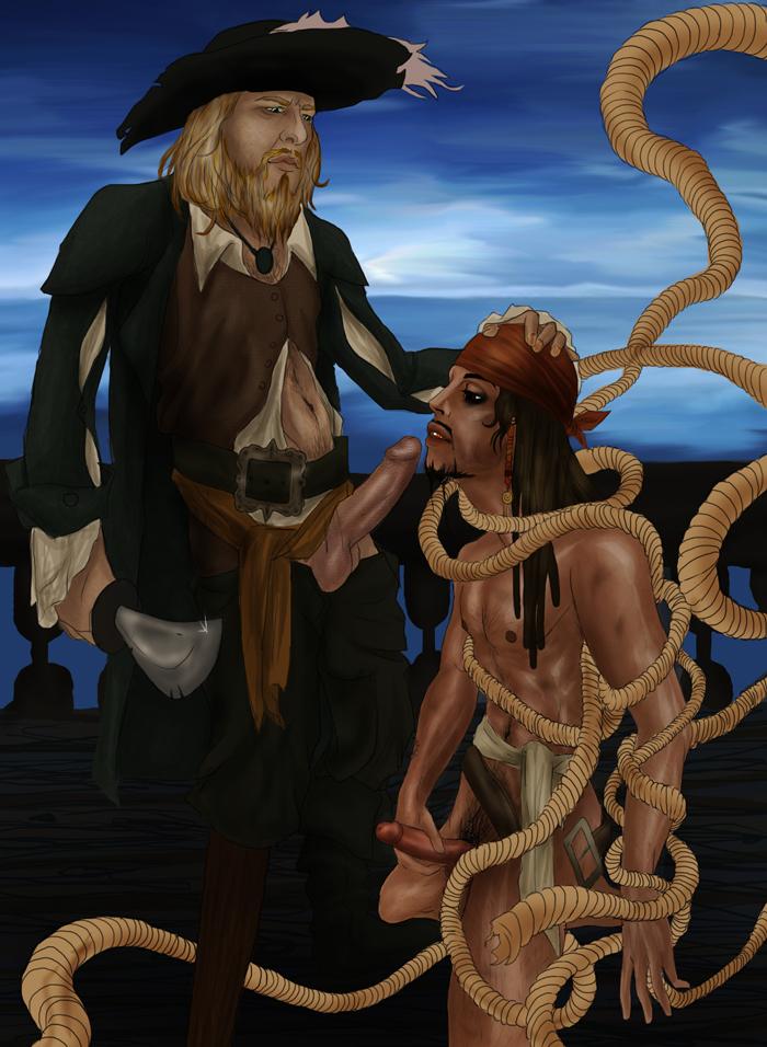 of bosun caribbean pirates the Koutetsu no majo annerose hentai gif