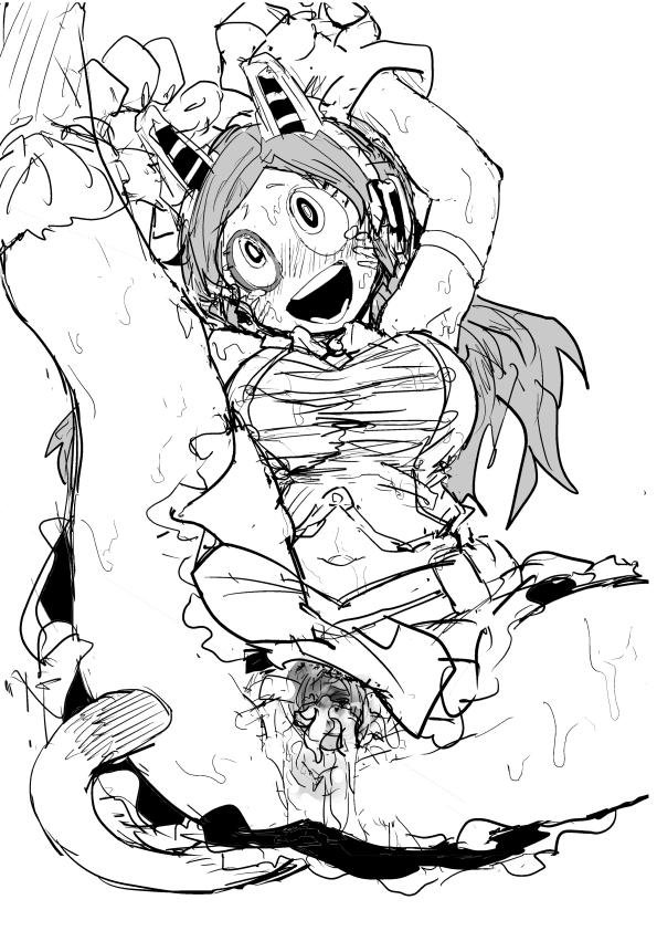 academia my who animates hero Cartagra: tsukigurui no yamai