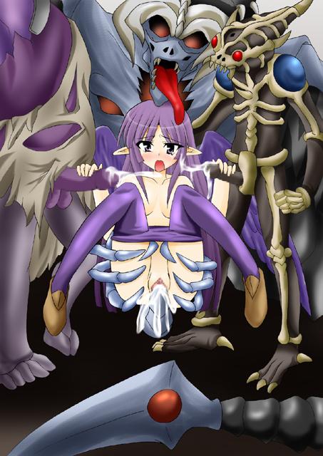 this zombie tomonori is a Nuki doki tenshi to akuma no sakusei battle