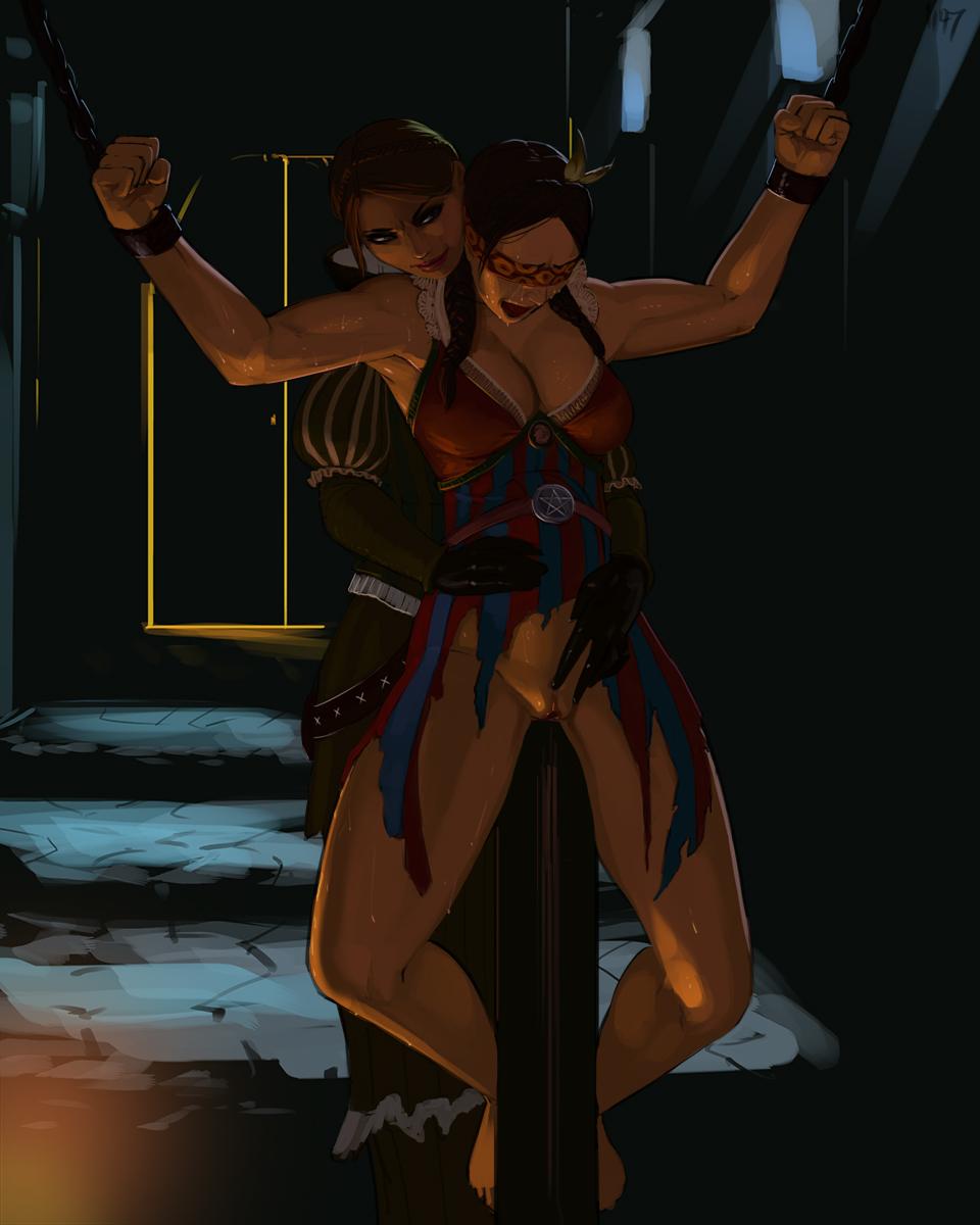 the elder 3 witcher unseen Jojo bizarre adventure mariah hentai
