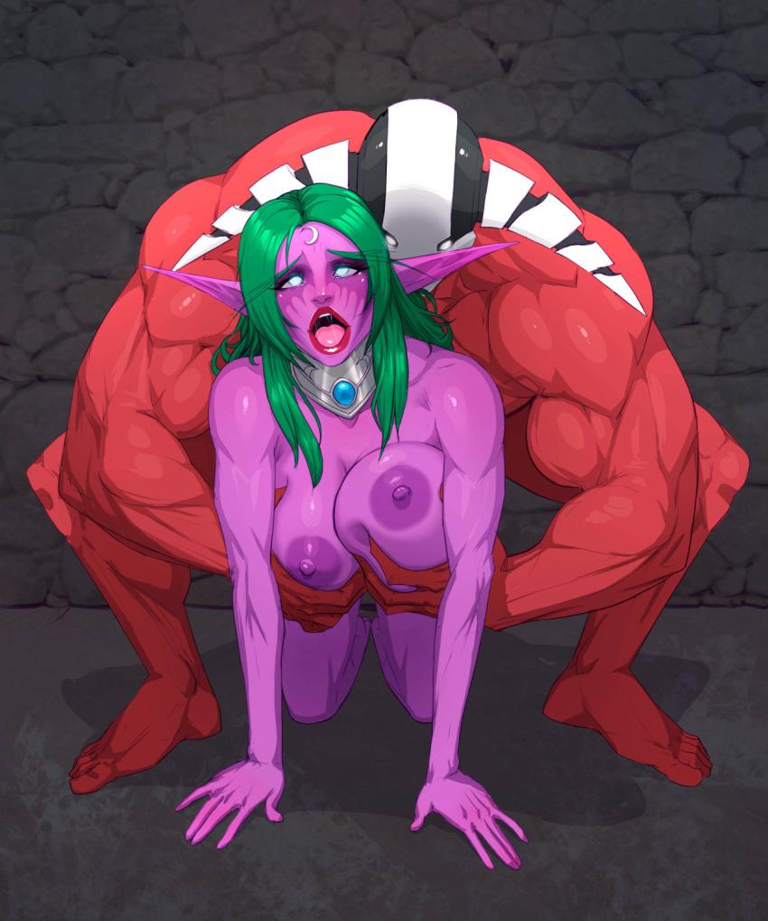 warcraft night hentai of world elf Under her tail part 4