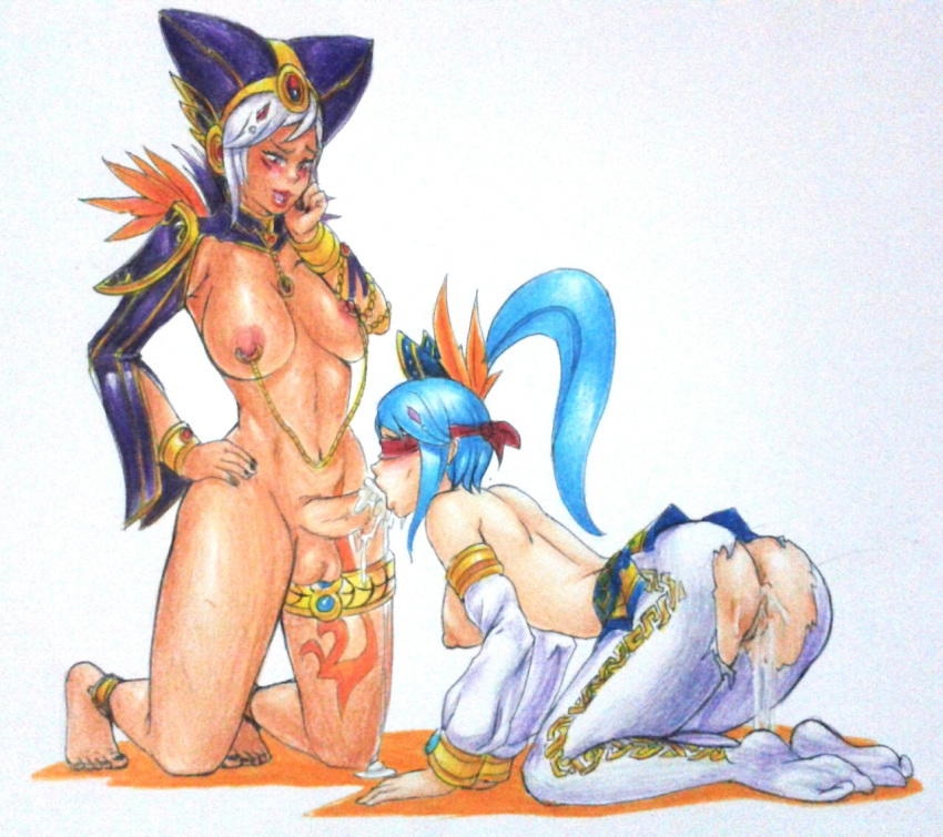 the wolves blue legend of the Elsa having sex with anna