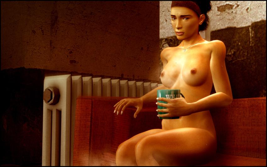 4 female mod fallout nude Anna has sex with elsa