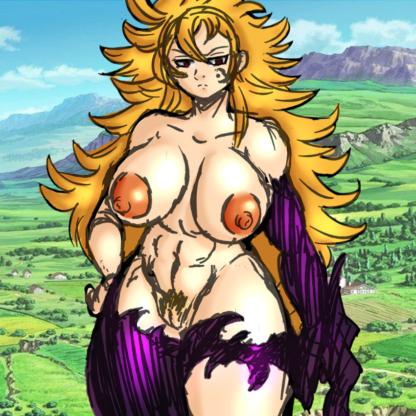 seven deadly sins nude the merlin Human male x female furry
