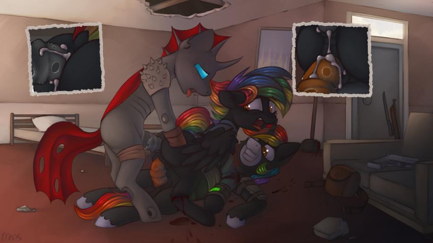 my flurry little heart pony Berserk: casca & judeau