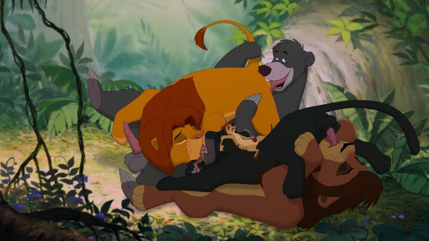 the book mowgli jungle wedgie Total drama island futa hentai