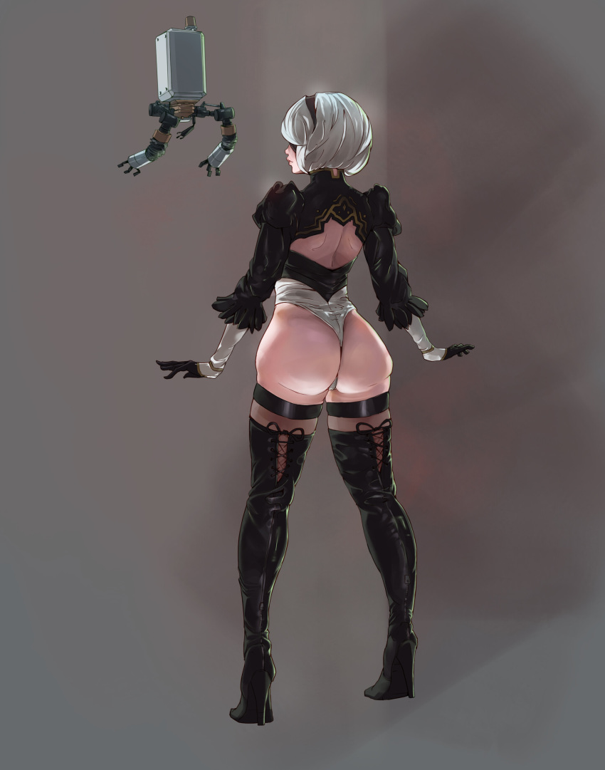 2b nier automata My little sister can't possibly have a hemorrhoid?!