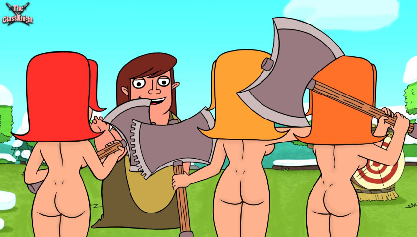 troops of clans clash naked Ed edd and eddy sarah