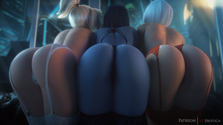 from overwatch old is how mercy Live for the funk hentai