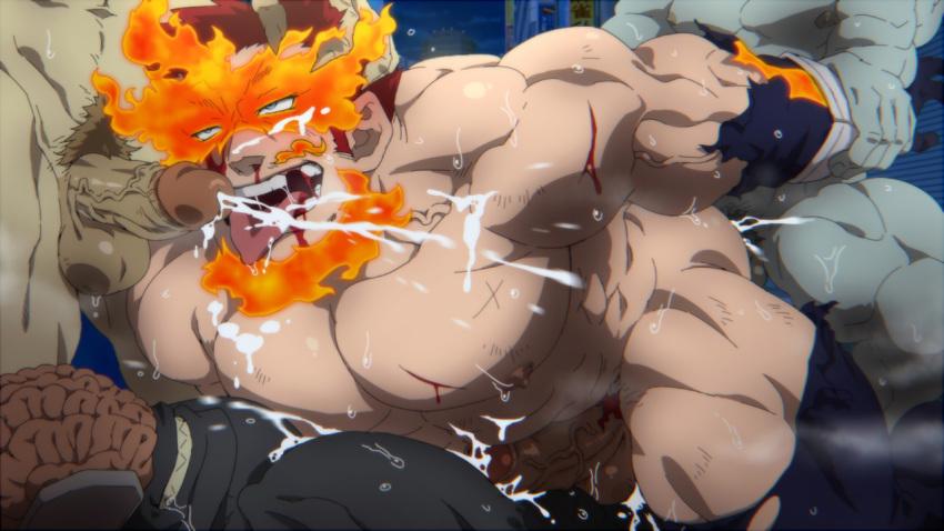 mina naked academia hero my Shinji ikari x kaworu nagisa