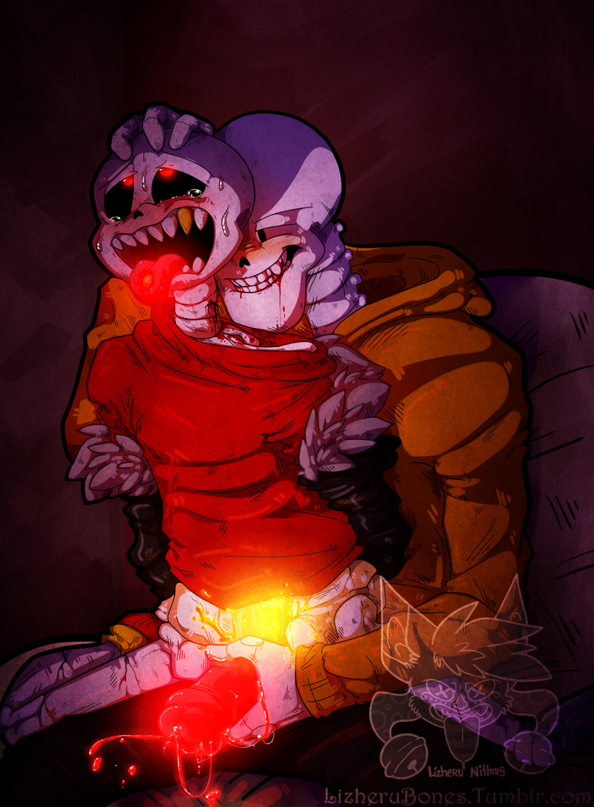x papyrus underfell underfell sans Under observation: my first loves and i
