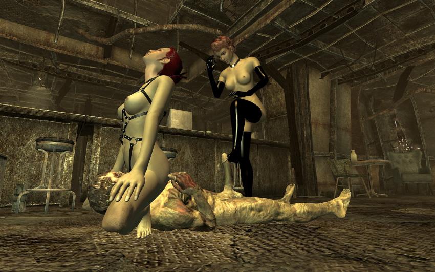 failed fallout 3 subject fev Musaigen no phantom world bikini