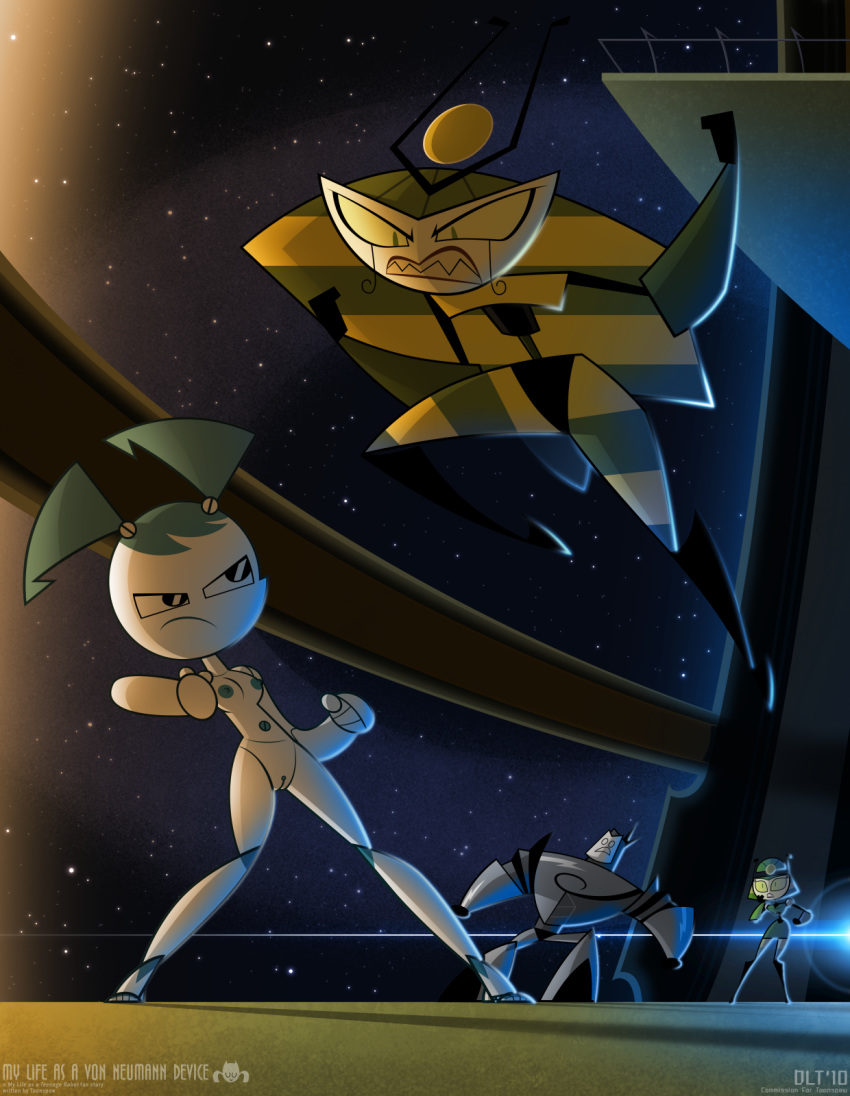 silver as shell a robot life teenage my Mass effect 3