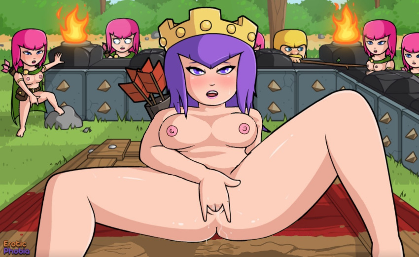 clash porn gay of clans Amy rose as a human